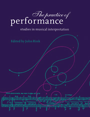 The Practice of Performance