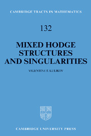 Mixed Hodge Structures and Singularities