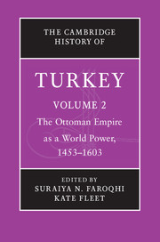 The Cambridge History of Turkey