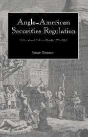 Anglo-American Securities Regulation