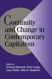Continuity and Change in Contemporary Capitalism