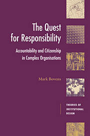 The Quest for Responsibility