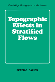 Topographic Effects in Stratified Flows