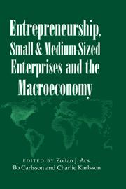 Entrepreneurship, Small and Medium-Sized Enterprises and the Macroeconomy
