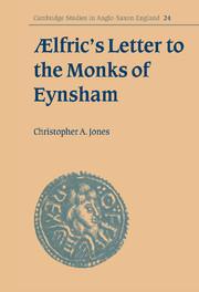 Ælfric's Letter to the Monks of Eynsham