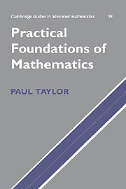 Practical Foundations of Mathematics