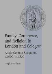 Family, Commerce, and Religion in London and Cologne