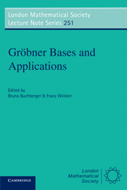 Gröbner Bases and Applications