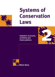 Systems of Conservation Laws 2