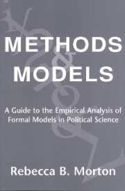 Methods and Models