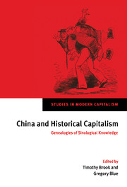China and Historical Capitalism