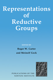 Representations of Reductive Groups