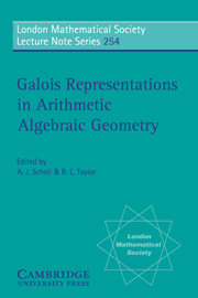 Galois Representations in Arithmetic Algebraic Geometry