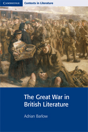 The Great War in British Literature