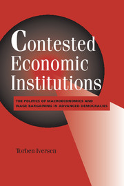 Contested Economic Institutions
