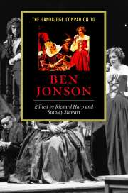 The Cambridge Companion to Ben Jonson