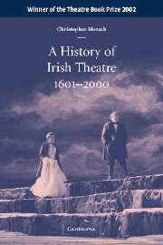 A History of Irish Theatre 1601–2000