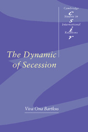 The Dynamic of Secession