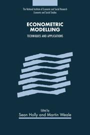 Econometric Modelling