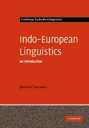 Indo-European Linguistics