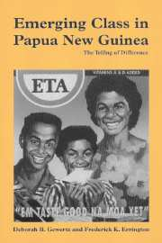 Emerging class papua new guinea telling difference