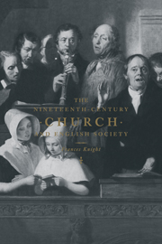 The Nineteenth-Century Church and English Society