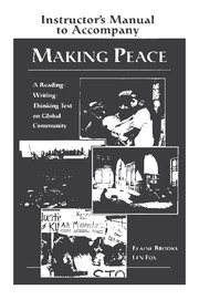 Making Peace Instructor's Manual