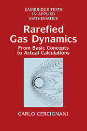 Rarefied Gas Dynamics