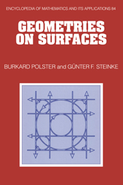 Geometries on Surfaces