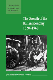 The Growth of the Italian Economy, 1820–1960