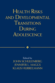 Health Risks and Developmental Transitions during Adolescence