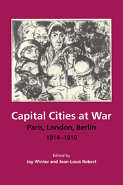 Capital Cities at War