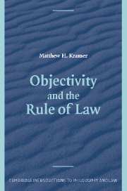 Objectivity and the Rule of Law