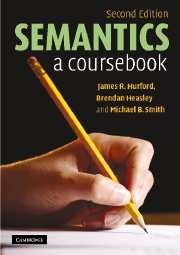 semantic relations and the lexicon murphy m lynne
