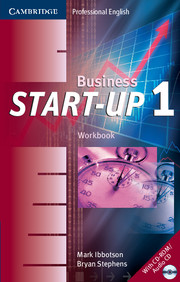 Business Start-Up 1 Workbook with Audio CD/CD-ROM