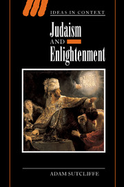 Judaism and Enlightenment