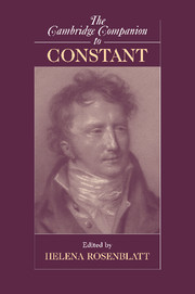 The Cambridge Companion to Constant