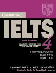 Cambridge IELTS 4 Self Study Pack China Edition