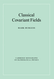 Classical Covariant Fields