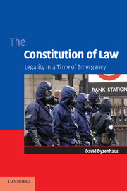 The Constitution of Law