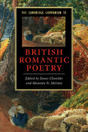 The Cambridge Companion to British Romantic Poetry