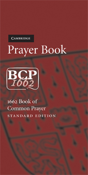 Book of Common Prayer, Standard Edition, Burgundy Imitation Leather, CP222