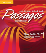 Passages Level 1 Class Audio CDs