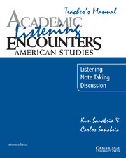 Academic Listening Encounters: American Studies