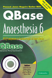 QBase Anaesthesia with CD-ROM