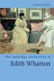 The Cambridge Introduction to Edith Wharton