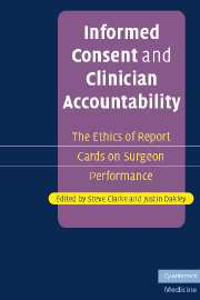 Informed Consent and Clinician Accountability