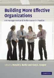 Building More Effective Organizations