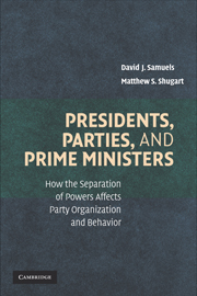 Presidents, Parties, and Prime Ministers