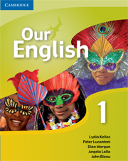 Our English 1 Student's Book with Audio CD